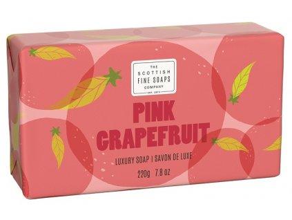 Scottish Fine Soaps Mýdlo - Růžový Grapefruit, 220g