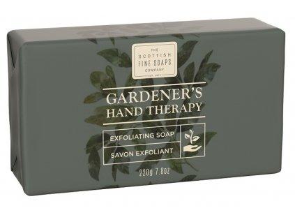 Scottish Fine Soaps Jemné Peelingové Mýdlo - Gardeners Therapy, 220g