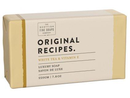 Scottish Fine Soaps Mýdlo - Bílý čaj a vitamín E, 220g