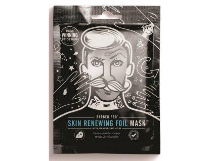 BarberPro Pánská Obnovující Pleťová Maska se zahřívací folií, 25ml