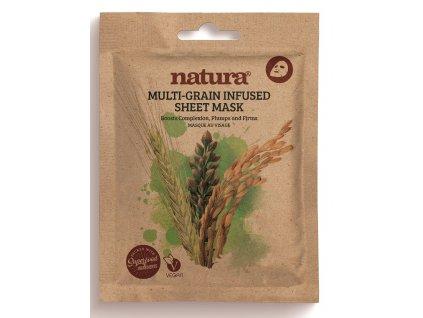 Natura Zpevňující Textilní Pleťová Maska, 22ml