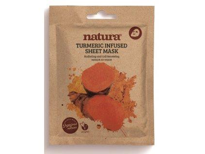 Natura Obnovující Textilní Pleťová Maska, 22ml
