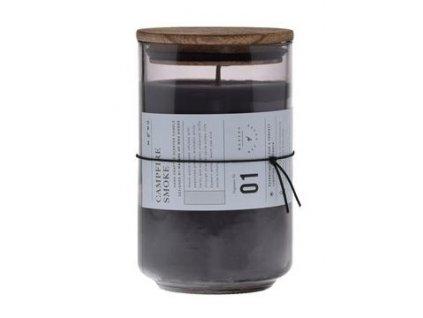 Makers of Wax Goods Vonná svíčka ve skle Kouř táborového ohně - Campfire Smoke, 17oz