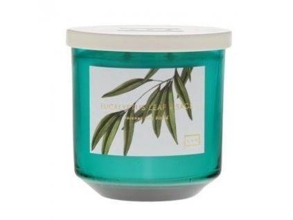 LAB Vonná svíčka Listy eukalyptu a šalvěj - Eucalyptus Leaf & Sage, 14oz