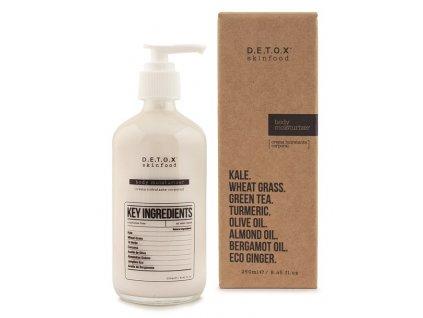Detox Skinfood Hydratační tělový krém, 250ml