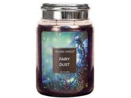 Village Candle Vonná svíčka ve skle, Vílí prach - Fairy Dust, 26oz