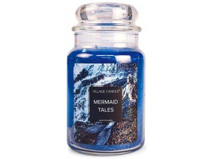 Village Candle Vonná svíčka ve skle, Příběhy mořských pannen - Mermaid Tales, 26oz