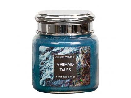 Village Candle Vonná svíčka ve skle, Příběhy mořských pannen - Mermaid Tales, 3,75oz
