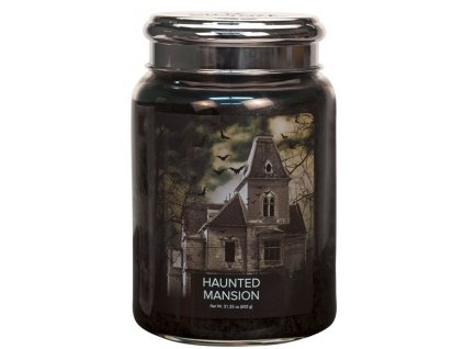 Village Candle Vonná svíčka ve skle - Haunted Mansion, 26oz