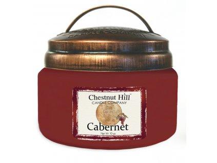 Chestnut Hill Vonná svíčka ve skle Cabernet - Cabernet, 10oz