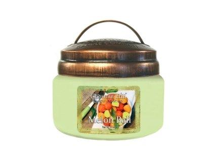 Chestnut Hill Vonná svíčka ve skle Koš melounů - Melon Ball, 10oz