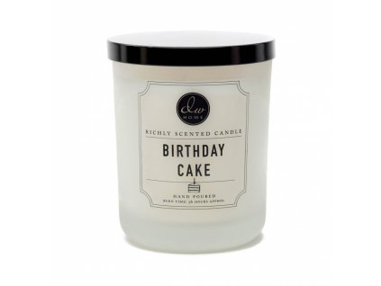 DW Home Vonná svíčka ve skle Birthday Cake 26,2oz
