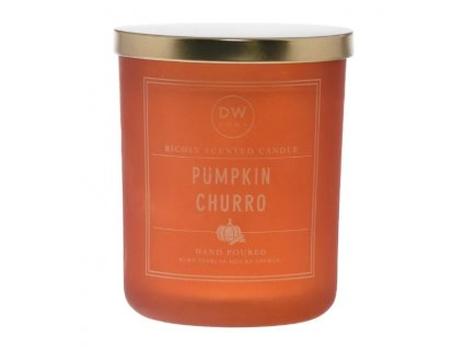 DW Home Vonná svíčka ve skle Pumpkin Churro 25,4oz