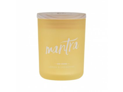DW Home Vonná svíčka ve skle Mantra - Lemon & Spearmint, 26,3oz