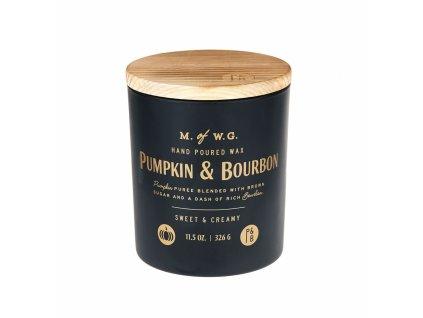 Makers of Wax Goods Vonná svíčka ve skle Pumpkin & Bourbon 8oz