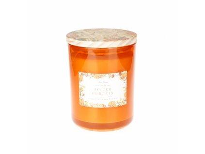 DW Home Vonná svíčka ve skle Spiced Pumpkin 14oz