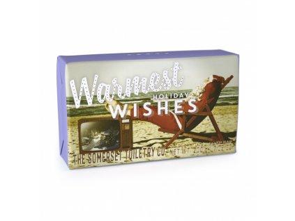 Somerset Toiletry Vánoční mýdlo - Sváteční duch - Máta a pačuli, 200g