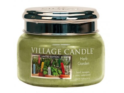 Village Candle Vonná svíčka ve skle - Herb Garden, 11oz