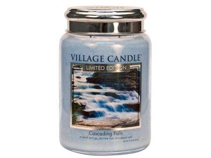 Village Candle Vonná svíčka ve skle - Cascading Falls, 26oz