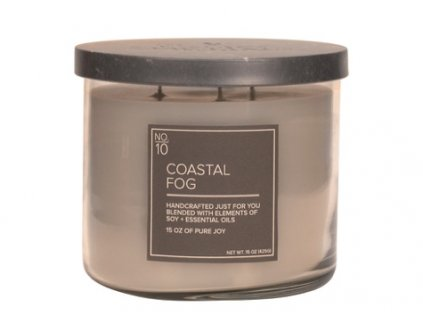 Village Candle Vonná svíčka ve skle - Coastal Fog 15oz