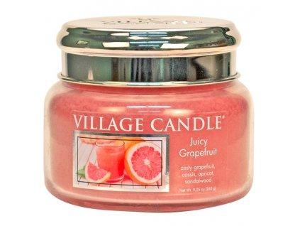 Village Candle Vonná svíčka ve skle - Juicy Grapefruit, 11oz