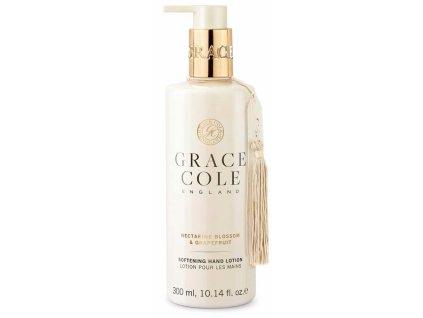 Grace Cole Jemné mléko na ruce - Květ nektarinky & Grapefruit, 300ml