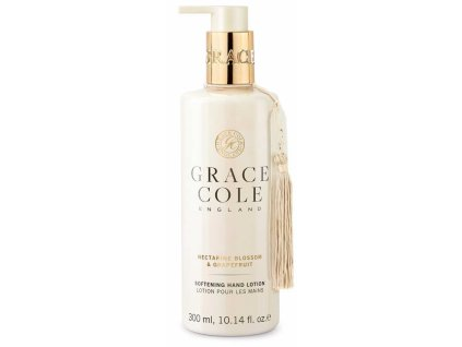 Grace Cole Jemné mléko na ruce - Nectarine Blossom & Grapefruit, 300ml