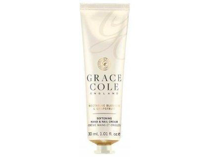 Grace Cole Krém na ruce a nehty - Nectarine Blossom & Grapefruit, 30ml