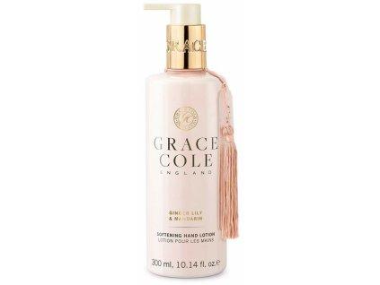 Grace Cole Jemné mléko na ruce - Lilie zázvorníková & Mandarinka, 300ml