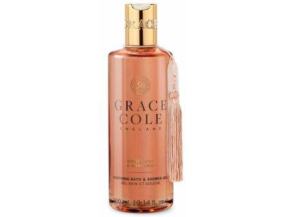 Grace Cole Koupelový a sprchový gel - Ginger Lily & Mandarin, 300ml