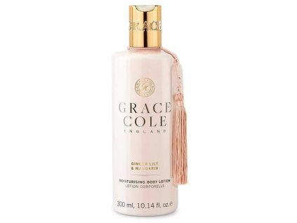 Grace Cole Hydratační tělové mléko - Ginger Lily & Mandarin, 300ml
