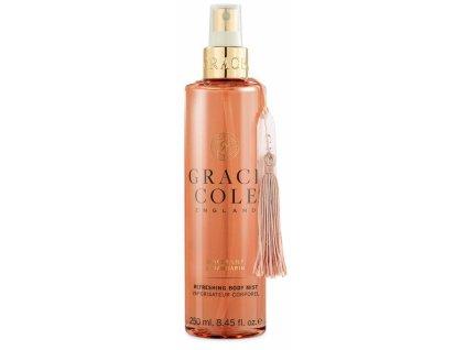Grace Cole Osvěžující mlha na tělo - Ginger Lily & Mandarin, 250ml