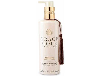 Grace Cole Jemné mléko na ruce - Oud Accord & Velvet Musk, 300ml