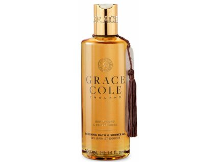 Grace Cole Koupelový a sprchový gel - Oud Accord & Velvet Musk, 300ml