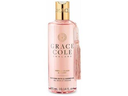 Grace Cole Koupelový a sprchový gel - Vanilla Blush & Peony, 300ml