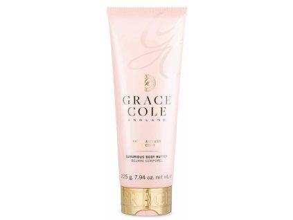 Grace Cole Tělové máslo - Vanilka a Pivoň, 225g