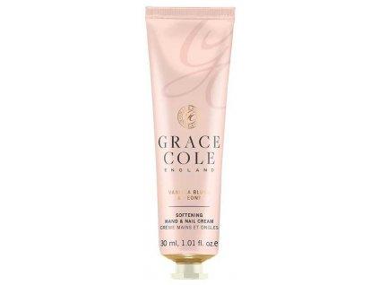 Grace Cole Krém na ruce a nehty - Vanilka a Pivoň, 30ml