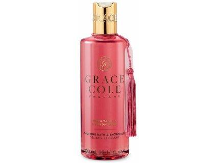 Grace Cole Koupelový a sprchový gel - Warm Vanilla & Sandalwood, 300ml