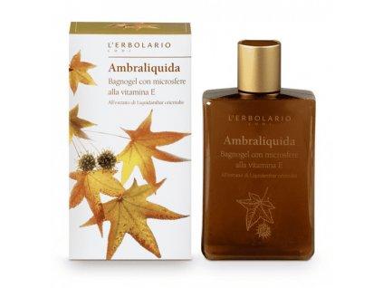 L´Erbolario Sprchový gel s vitamínem E - Ambraliquida 250ml
