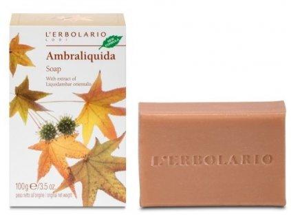 L'Erbolario Jemné mýdlo - Ambraliquida 100g