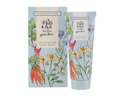 Heathcote & Ivory Exfoliační mýdlo na ruce - In the garden, 100ml