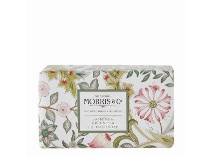 Heathcote & Ivory Luxusní třikrát jemně mleté mýdlo - Jasmine & Green tea, 230g