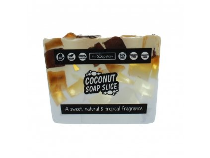 The Soap Story Mýdlový řez - Coconut, 120g