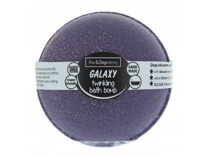 The Soap Story Šumivá bomba do koupele - Galaxy, 200g