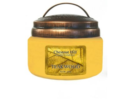 Chestnut Hill Vonná svíčka ve skle Teakové dřevo - Teakwood, 10oz