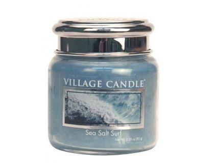 Village Candle Vonná svíčka ve skle, Mořský příboj - Sea Salt Surf 3,75oz