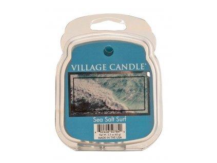 Village Candle Vosk, Mořský příboj - Sea Salt Surf 62g