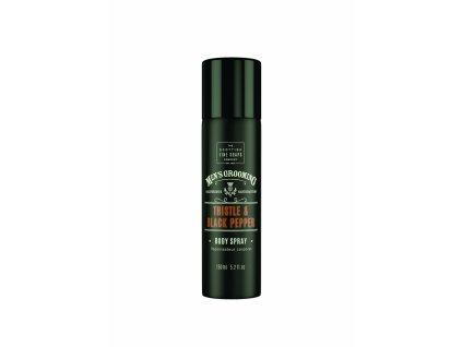 Scottish Fine Soaps Pánský tělový sprej - Černý pepř a ostropestřec 150ml