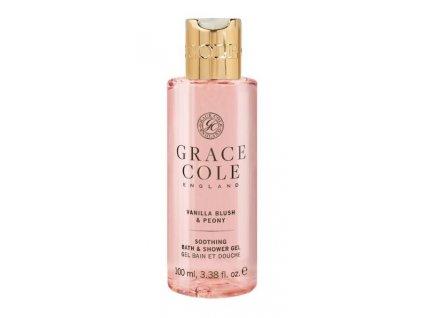 Grace Cole Sprchový gel v cestovní verzi- Vanilla Blush & Peony, 100ml
