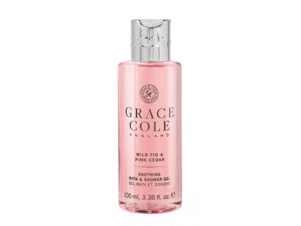 Grace Cole Sprchový gel v cestovní verzi - Wild Fig & Pink Cedar, 100ml